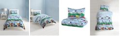 Dream Factory Trains And Planes 2-Piece Twin Comforter Set
