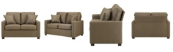 Dwell Home Inc. Metro Loveseat with Pillows
