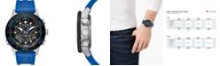 Citizen Eco-Drive Men's Promaster Sailhawk Analog-Digital Blue Polyurethane Strap Watch 44mm