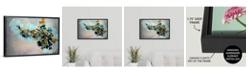"GreatBigCanvas 'Kaleidoscope' Framed Canvas Wall Art, 24"" x 16"""