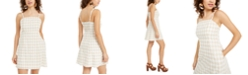 Crystal Doll Juniors' Gingham Short Dress