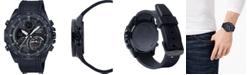 G-Shock G-Shock Men's Solar Analog-Digital Black Resin Strap Watch 48mm