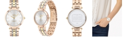 COACH Women's Park Tri-Tone Stainless Steel Bracelet Watch 34mm