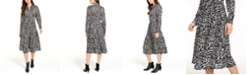 Alfani Petite Belted Shirtdress, Created for Macy's