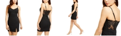 City Studios Juniors' Lace-Back Bodycon Dress