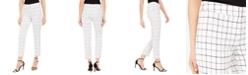 Nine West Plaid Skinny Pants