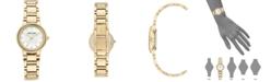 Anne Klein Women's Gold-Tone Bracelet Watch 28mm