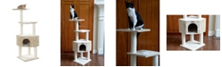 GleePet Cat Tree with Perch and Playhouse