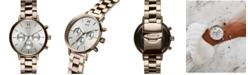 MVMT Women's Chronograph Nomad Land Beige Gold-Tone Stainless Steel Bracelet Watch 38mm
