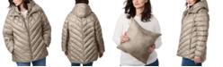 Bernardo Plus Size Bibbed Hooded Packable Puffer Coat