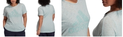 adidas Plus Size Winners Logo T-Shirt