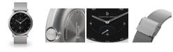 Lilienthal Berlin L1 Sliver-Tone Stainless Steel Mesh Bracelet Watch, 37.5mm