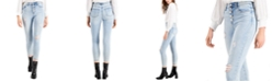 Celebrity Pink Juniors' High Rise Distressed Skinny Jeans