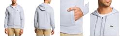 Lacoste Men's SPORT Long Sleeve Full-Zip Solid Hoodie