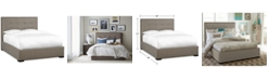 Furniture Casey Upholstered Queen Bed