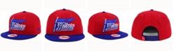 New Era Washington Bullets HWC Logo Stacker 9FIFTY Snapback Cap