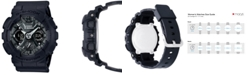 G-Shock Women's Analog-Digital Black Resin Strap Watch 46mm GMAS120MF-1A