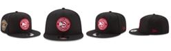 New Era Atlanta Hawks All Metallic Hoops 9FIFTY Snapback Cap