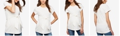 A Pea in the Pod Maternity Tie-Waist Top