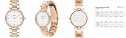 COACH Women's Park Carnation Gold-Tone Stainless Steel Bracelet Watch 34mm