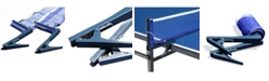 Blue Wave Deluxe Table Tennis Ez Clamp Clip-On Post and Net Set
