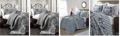 Lush Decor Aubree 3-Piece Reversible King Quilt Set