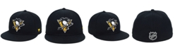 Authentic NHL Headwear Pittsburgh Penguins Basic Fan Fitted Cap