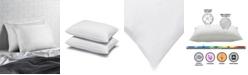 Ella Jayne Cotton Blend Superior Down -Like SOFT Stomach Sleeper Pillow - Set of Two - Standard