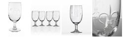 Rolf Glass Fleur De Lis Iced Tea 16Oz - Set Of 4 Glasses