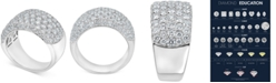Macy's Diamond Cluster Statement Ring (3-3/4 ct. t.w.) in 14k White Gold