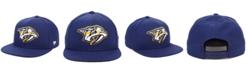 Authentic NHL Headwear Nashville Predators Basic Fan Snapback Cap