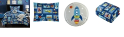 Chic Home Spaceship 4 Piece Twin Comforter Set