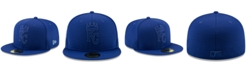 New Era Boys' Kansas City Royals Clubhouse 59FIFTY-FITTED Cap