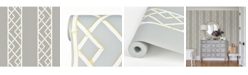 "Brewster Home Fashions Latticework Wallpaper - 396"" x 20.5"" x 0.025"""