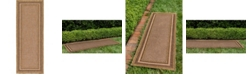 "Bridgeport Home Pashio Pas6 Brown 2' 2"" x 6' Runner Area Rug"