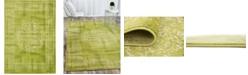"""Bridgeport Home Linport Lin5 Light Green 8' x 11' 6"""" Area Rug"""