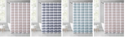 "VCNY Home Stripe Eyelet 72"" x 72"" Shower Curtain"