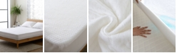Cheer Collection Ultra Soft Tencel Air Flow Fabric Waterproof Fitted Mattress Protector - Twin