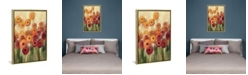 "iCanvas Ranunculi Field Iii by Silvia Vassileva Gallery-Wrapped Canvas Print - 26"" x 18"" x 0.75"""