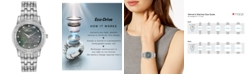 Citizen Eco-Drive Women's Silhouette Stainless Steel Bracelet Watch 31mm