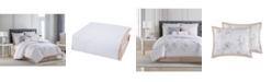 Charisma Riva Cotton Printed King 4 Piece Comforter Set