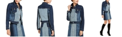 INC International Concepts INC Denim Patchwork Jacket, Created for Macy's