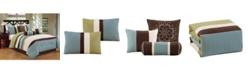 Luxlen Petersburgh 7 Piece Comforter Set, Cal King
