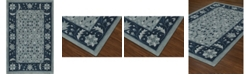 D Style CLOSEOUT! Torrey Tor1 Sky 5' X 7'6 Area Rugs