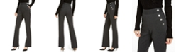 INC International Concepts INC Side-Button Bootcut Pants, Created for Macy's