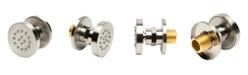 "ALFI brand Brushed Nickel 2"" Round Adjustable Shower Body Spray"