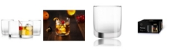 JoyJolt Nova Whiskey Glasses Set of 4