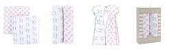 Adrienne Vittadini Bambini Muslin Cotton Swaddles, 2 Pack