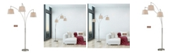 """Artiva USA Luce 84"""" LED 3-Arch Floor Lamp with Dimmer"""