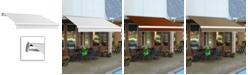 """Awntech 8' Maui Left Motor, Remote Retractable Awning, 78"""" Projection"""